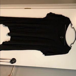 Black Hannah short sleeve tunic
